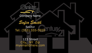 Century 21 Business Cards Template: 501591