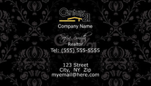 Century 21 Business Cards Template: 501595