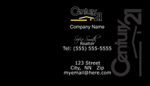Century 21 Business Cards Template: 480395