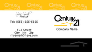 Century 21 Business Cards Template: 480399