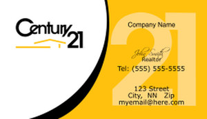 Century 21 Business Cards Template
