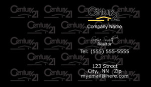 Century 21 Business Cards Template: 480431