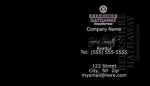 Berkshire Hathaway Business Cards Template: 528607