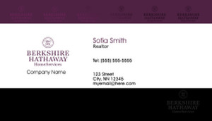 Berkshire Hathaway Business Cards Template: 528609