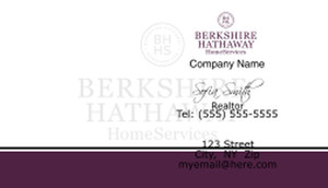 Berkshire Hathaway Business Cards Template