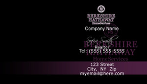 Berkshire Hathaway Business Cards Template: 528615