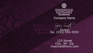 Berkshire Hathaway Business Cards Template: 528623