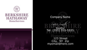Berkshire Hathaway Business Cards Template: 526515