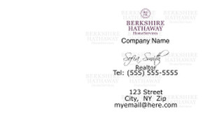 Berkshire Hathaway Business Cards Template: 526517