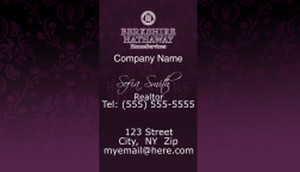 Berkshire Hathaway Business Cards Template: 526519