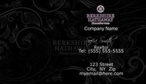 Berkshire Hathaway Business Cards Template: 528567