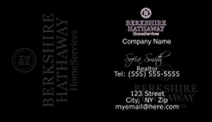 Berkshire Hathaway Business Cards Template: 528569