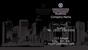 Berkshire Hathaway Business Cards Template: 528573