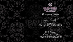 Berkshire Hathaway Business Cards Template: 528575