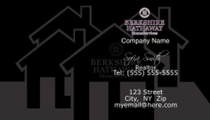 Berkshire Hathaway Business Cards Template: 528581