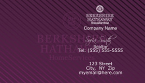 Berkshire Hathaway Business Cards Template: 528583