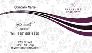 Berkshire Hathaway Business Cards Template: 526511
