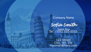 Travel Business Cards Template: 597737