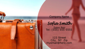 Travel Business Cards Template: 597749