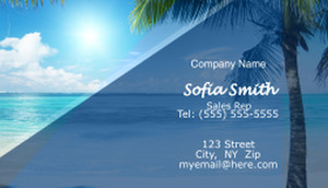 Travel Business Cards Template: 597721