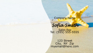 Travel Business Cards Template: 597725