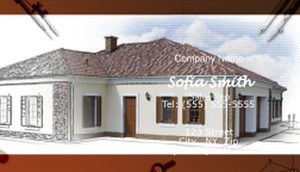 Roofing Business Cards Template: 597617