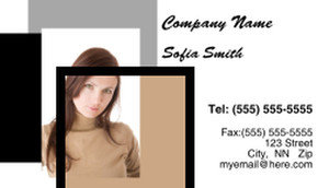 Hairdressers - Stylists Business Cards Template: 317798