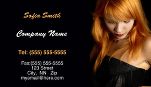 Hairdressers - Stylists Business Cards Template: 317744
