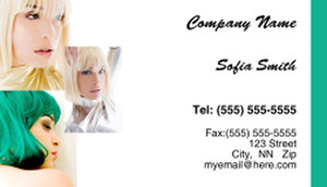 Hairdressers - Stylists Business Cards Template: 317866