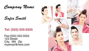 Hairdressers - Stylists Business Cards Template: 317769