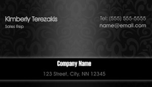 Top Picks Business Cards Template: 580255