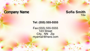 Floral Business Cards Template: 318743