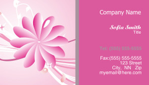 Floral Business Cards Template: 318765