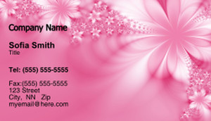 Floral Business Cards Template: 318703