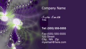 Floral Business Cards Template: 318720