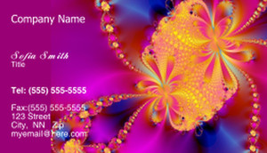 Floral Business Cards Template: 318728