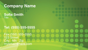Circles Business Cards Template: 308458