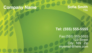 Circles Business Cards Template: 308493