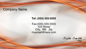 Circles Business Cards Template: 318584