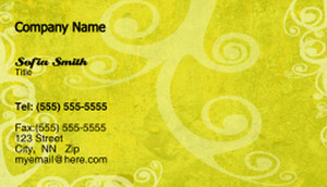 Circles Business Cards Template: 318606