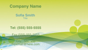 Abstract Business Cards Template: 308484