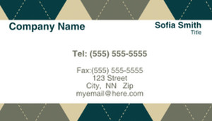 Abstract Business Cards Template: 308491