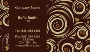 Circles Business Cards Template: 318588