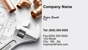 Specialized Contractors Business Cards Template: 335410
