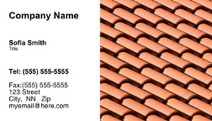 Roofing Business Cards Template: 335428