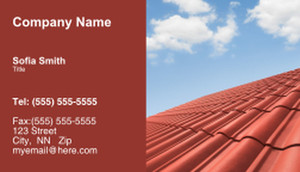 Roofing Business Cards Template: 335433