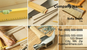 General Construction / Renovation Business Cards Template: 334122