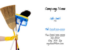 Cleaning Services Business Cards Template: 335188