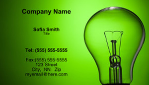 Electrical Business Cards Template: 335396