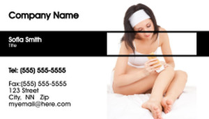 Waxing - Laser & Hair Removal Business Cards Template: 335240